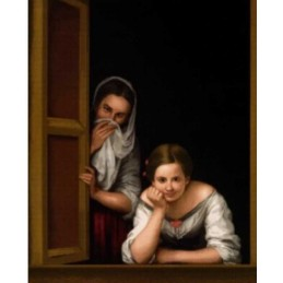 Mujeres en la ventana, Murillo