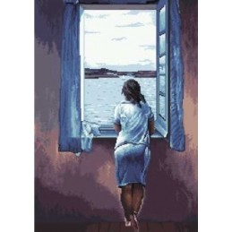 Muchacha en la ventana, Dalí