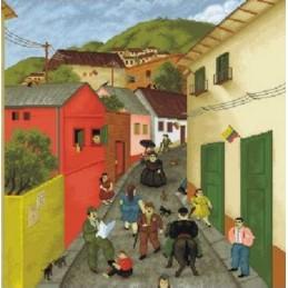 La calle de Botero