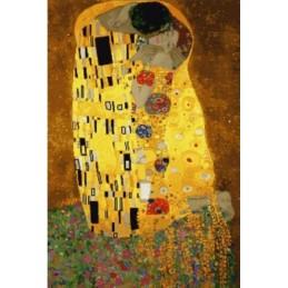 Klimt, El beso