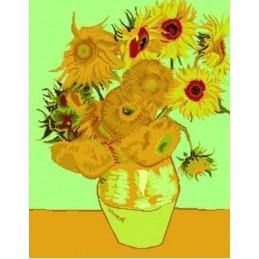 Los girasoles, Van Gogh