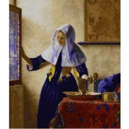 Mujer con aguamanil