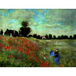 Les Coquelicots, Monet