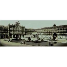 Salamanca, plaza mayor años 20