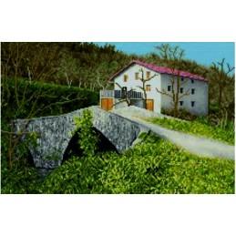 Caserio y Puente