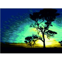 Puesta de sol en Australia