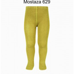 Leotardo liso 2019/1 Mostaza