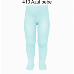 Leotardo liso 2019/1 Azul Bebe